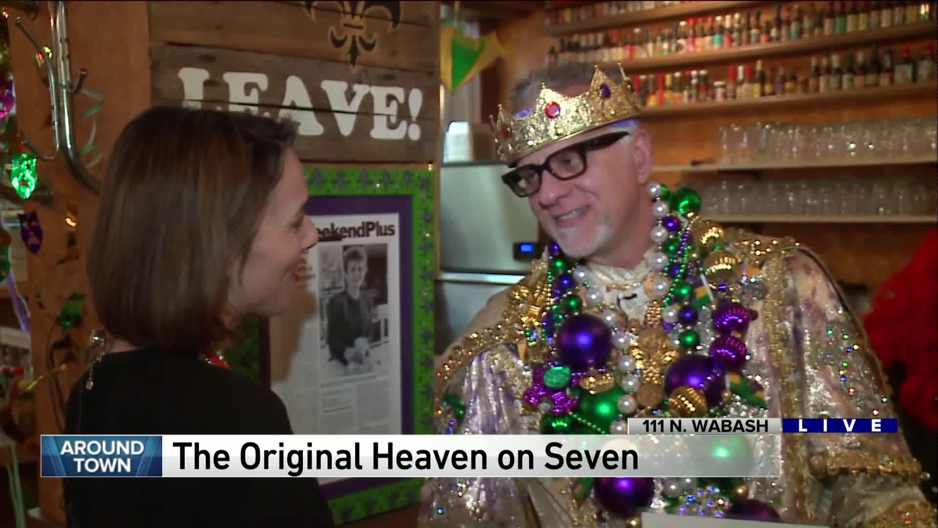 Around Town celebrates Lunde Gras at Heaven on Seven