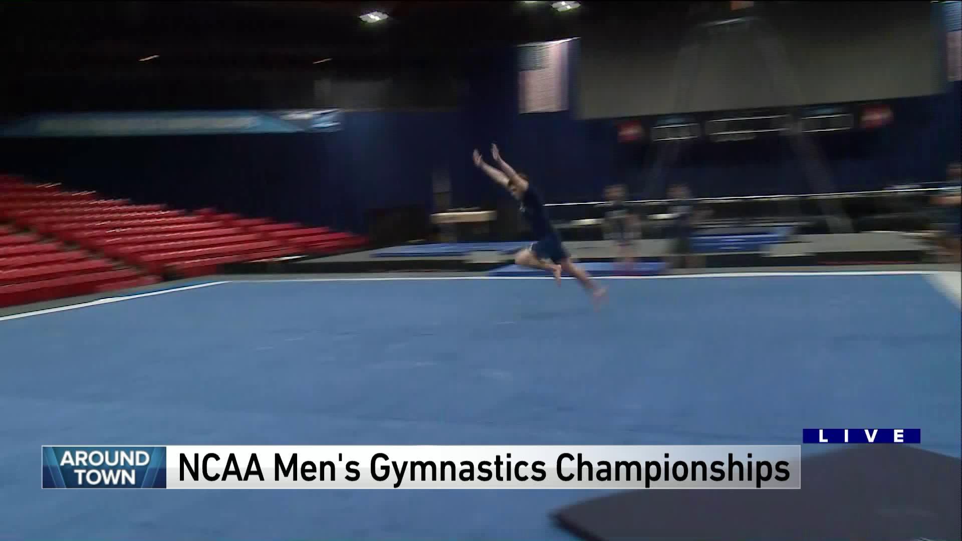 Around Town previews the NCAA Men's Gymnastics Championship