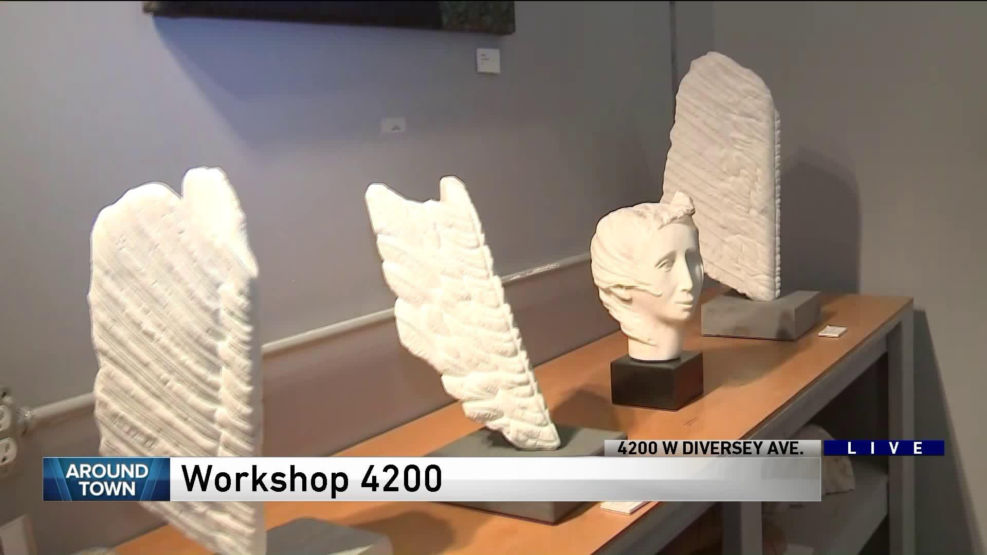 Around Town visits Workshop 4200