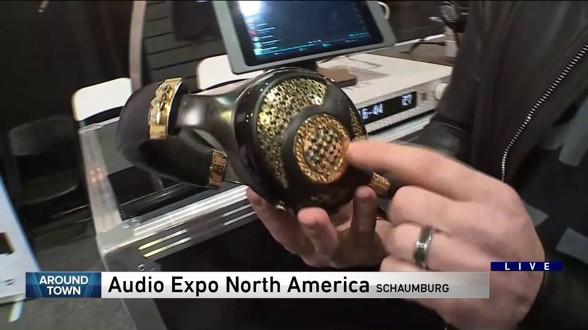 Around Town checks out AXPONA: Audio Expo North America