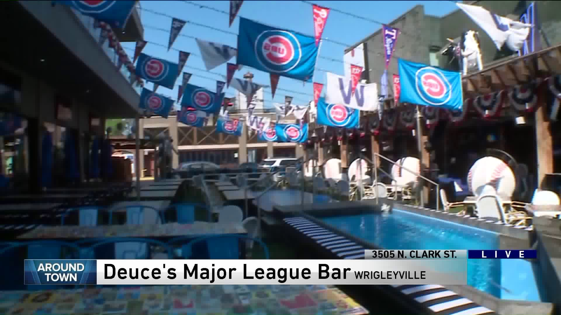 Around Town checks out Deuces Major League Bar