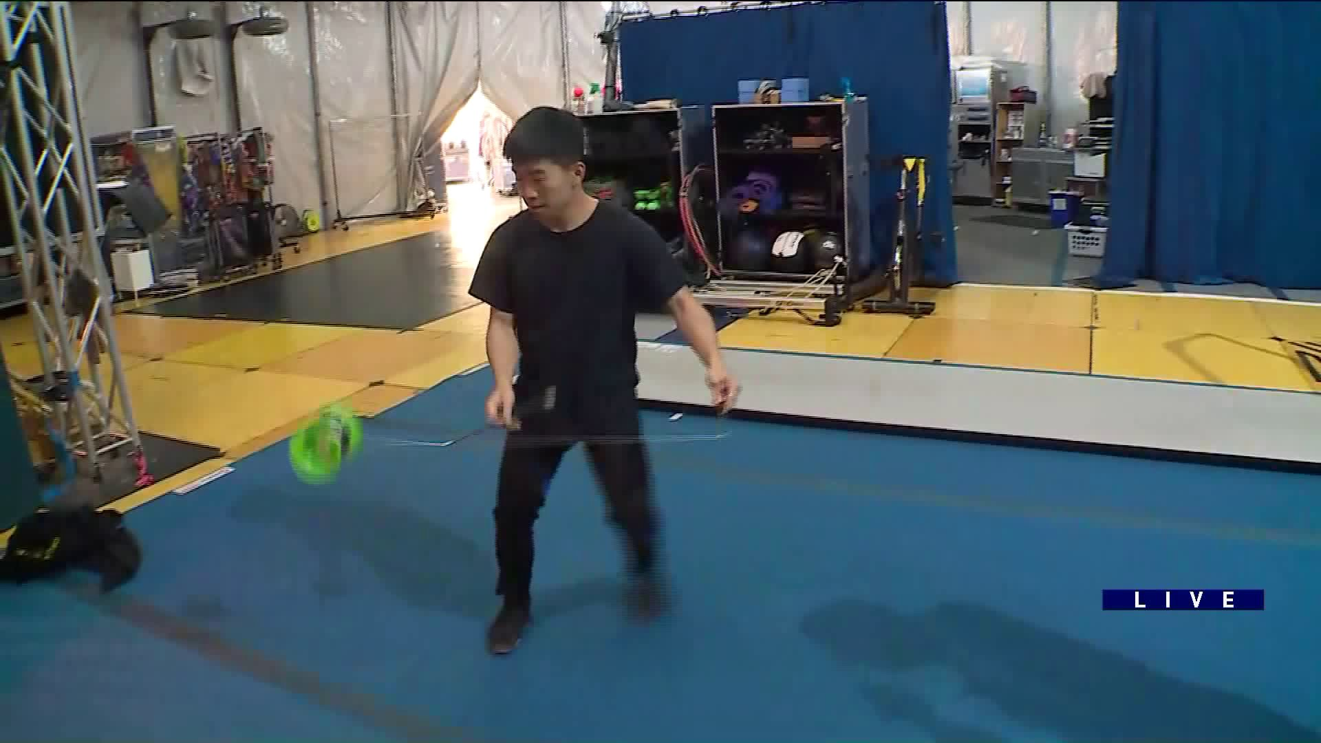 Around Town goes behind the scenes at VOLTA by Cirque Du Soleil